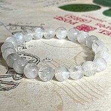 Náramky - Elastic Natural AAA Monstone Bracelet AG925 / Elastický náramok prírodný mesačný kameň adulár - 13825450_