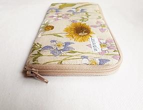 Na mobil - Obal na mobil - Kvety na lúke - 13827017_
