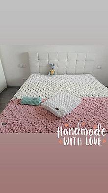 Úžitkový textil - Prehoz na posteľ - 13825531_