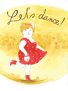 Magnetky - Let's dance, magnetka - 13827805_