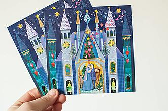"""Papier - Pohľadnica """"Svätá noc"""" - 13829369_"""