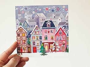 """Papier - Pohľadnica """"Spoločnou výzdobou ozdobme sa"""""""" - 13829378_"""