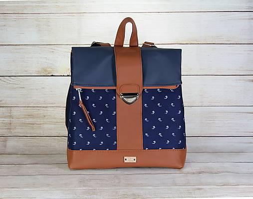 Modrotlačový batoh MILAN 1