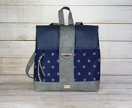 Modrotlačový batoh MILAN 3