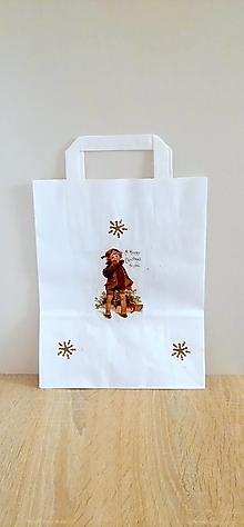 Iné tašky - darčeková taška chlapček - 13829531_