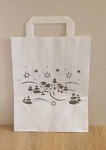 Iné tašky - darčeková taška dedinka - 13829568_