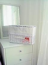 Košíky - Madeirový box s poklopom - 13828880_