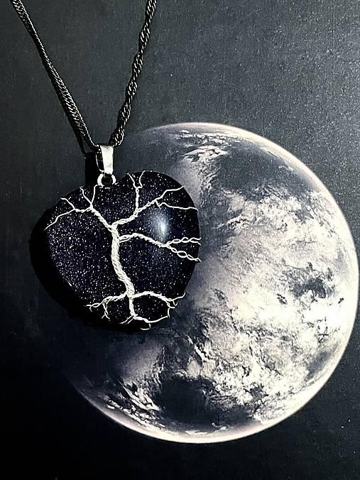 Prívesok hviezdne srdce - strom života