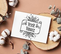 Papiernictvo - Pečiatka Veselé Vianoce 20 - 13832296_