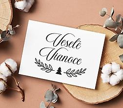 Papiernictvo - Pečiatka Veselé Vianoce 22 - 13832302_