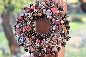 Dekorácie - Vianočný venček - 13830718_