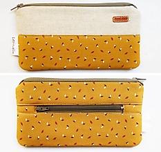 Peňaženky - Peňaženka - Mini lístočky - 13832979_