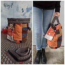Košíky - 2v1 velký recy koš nebo manšestrová taška 5 - 13831412_