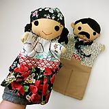 Hračky - Maňuška rómska dievčinka/ mládenec - 13830352_