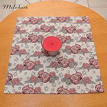 Úžitkový textil - Darček k nákupu nad 25,- EUR ! Vianočný obrus 45x 45 cm - 13832865_