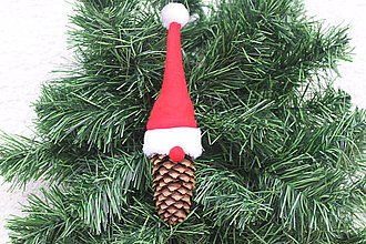 Detské doplnky - Mikuláš vianočná ozdoba - 13831936_