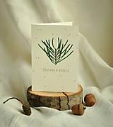 Papiernictvo - Vianočná pohľadnica - 13834382_