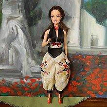 Hračky - Top a nohavice pre Barbie - 13834537_