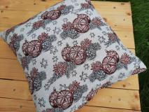 Úžitkový textil - Obliečka na vankúš vianočný motív (Bambule) - 13834597_
