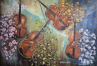 Obrazy - A.Vivaldi - 4 ročné obdobia - 13834924_