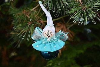 Dekorácie - Vianočná ozdoba - víla - 13835771_