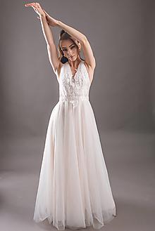 Šaty - Svadobné farebné tylové šaty rôzne farby - 13836101_