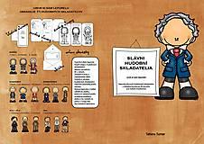 Knihy - Slávní Hudobní Skladatelia - leporelo - 13834568_