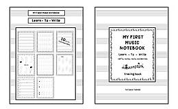 Knihy - My First Music Notebook - 13834575_