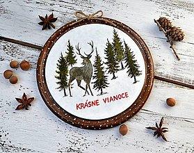 Tabuľky - Vianočná tabuľka - 13835015_