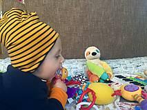 Detské čiapky - merino čiapka - 13836300_