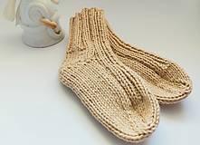 Detské topánky - ponožky pre bábätko 0-3 mesiace - 13835342_