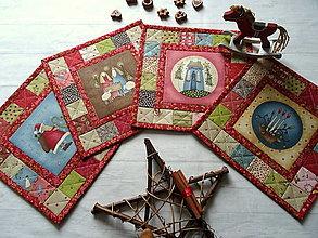 Úžitkový textil - Christmastime ... prestierky No.3 - 13840254_