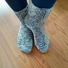 Obuv - Vlnené ponožky - 13840091_