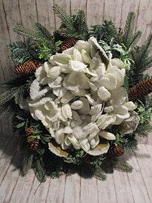 Dekorácie - Vianočný veniec - 13839706_