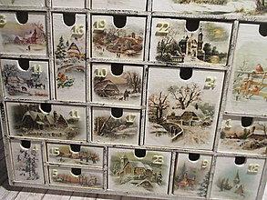Krabičky - Adventný kalendár - 13839797_