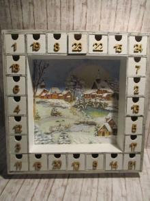 Krabičky - Adventný kalendár - 13839836_