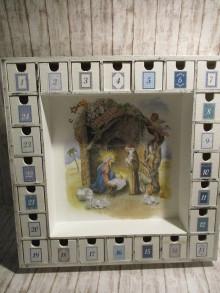 Krabičky - Adventný kalendár - 13839870_