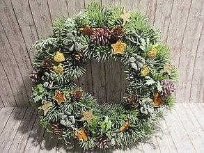 Dekorácie - Vianočný veniec - 13839946_
