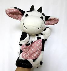 Hračky - Maňuška kravička (Kravka od Ružovej doliny) - 13837221_