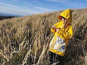 """Detské oblečenie - Dievčenský softshellový kabátik """"radosť"""" - 13840162_"""