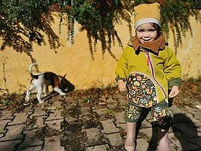 """Detské oblečenie - Softshellka """"na zelenej lúke"""" - 13840175_"""