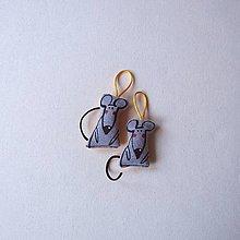 Kľúčenky - MYŠ A MYŠ - přívěsek, klíčenka - 13840449_