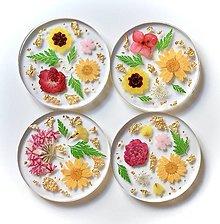 Pomôcky - Kvetinové podšálky - 13837697_