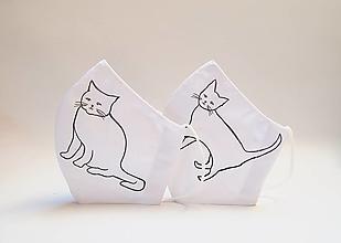 Rúška - Rúško s mačičkami - 13838787_