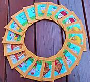 Hračky - Textilné pexeso ,,tri prasiatka'' - 13844159_