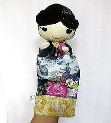 Hračky - Maňuška Japonka v (NE)tradičnom kimone (dievčatko Botan) - 13845171_