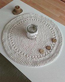 Úžitkový textil - Prestieranie krémové - 13840657_