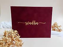 Papiernictvo - Svadobná kniha hostí - 13843237_