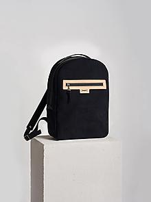 Batohy - Backpack Velvet black - 13843114_