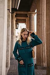 Šaty - Dámske svetrové šaty - 13842861_